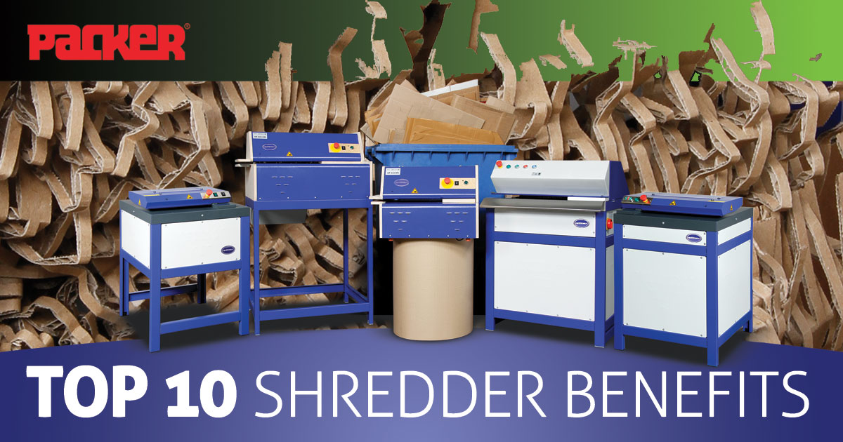 shredder benefits